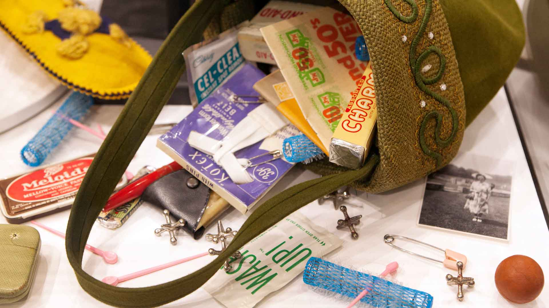 When it comes to purse contents, some things never change – they just take new forms.